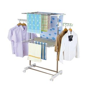 RADIAN MULTIPURPOSE 2 LAYER CLOTHES RACK - YLT-0412