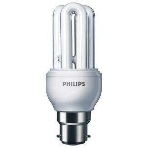 PHILIPS 11W GENIE ENERGY SAVING LIGHT BULBS - B22 PIN TYPE