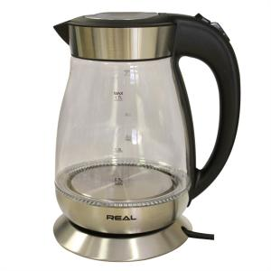 REAL 1.7L GLASS KETTLE - HHB1781