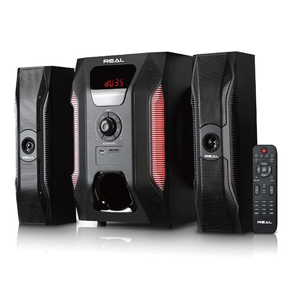 REAL 136W ACTIVE SPEAKERS - AS21-136BBT