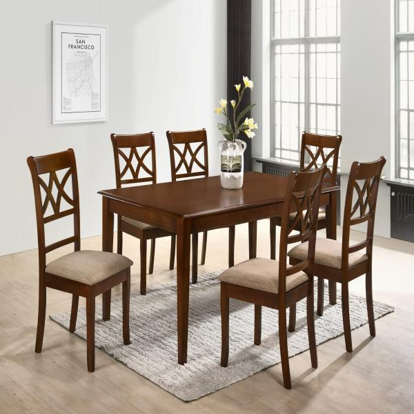 RADIAN 6 SEATER DINING TABLE SET - TS619
