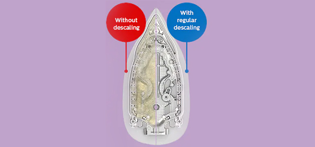 HOW TO DE-SCALE YOUR PHILIPS STEAM IRON