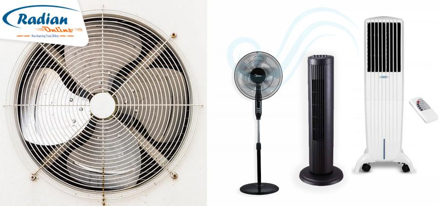 AIR COOLER, FAN OR TOWER FAN? LEARN WHICH ONE BEST SUITS YOUR NEEDS